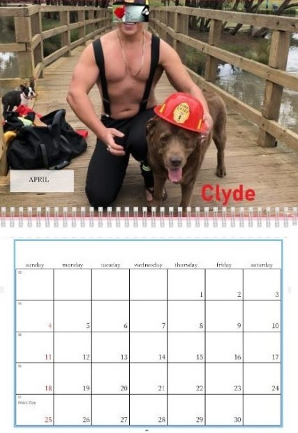The 2021 Love Doctor Fireman Calendar is now available!
